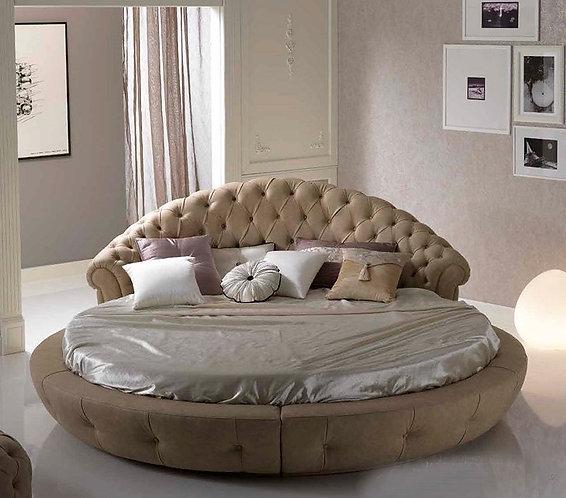 Круглая кровать Aella