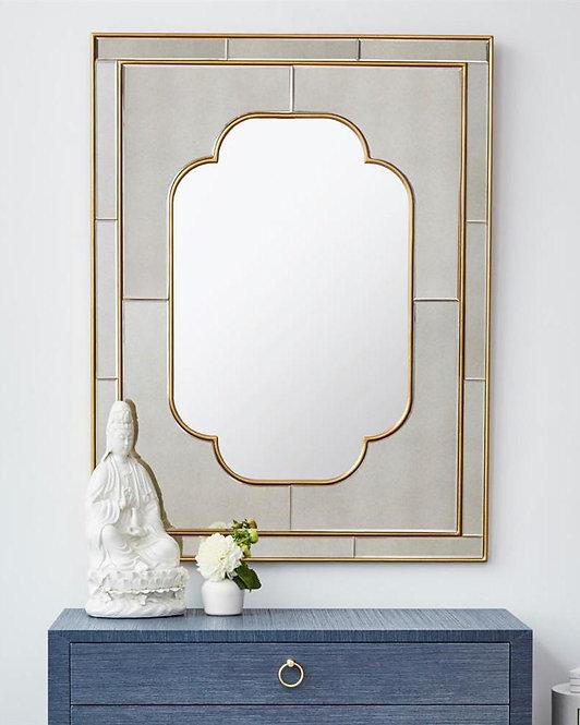 """Зеркало в прямоугольной раме """"Патриция"""""""