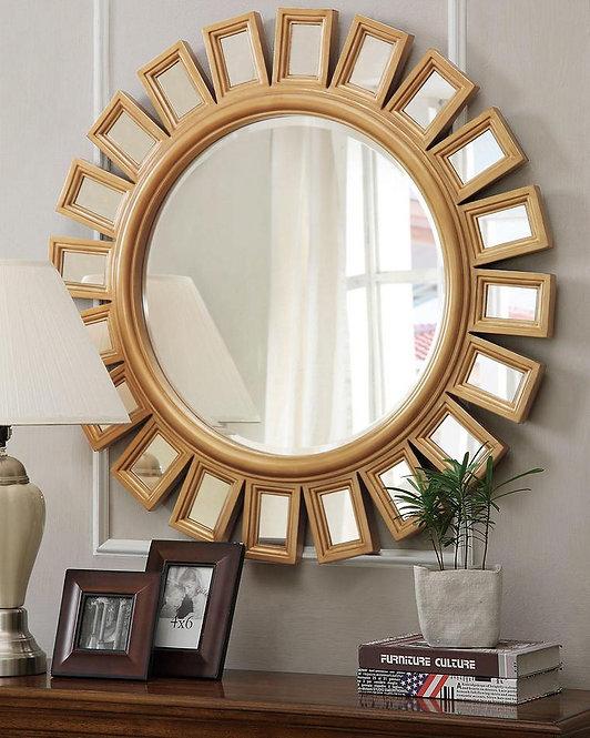 "Зеркало в круглой раме ""Эштон"""