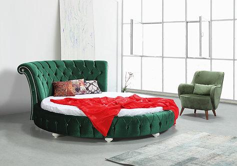 Круглая кровать Anisia