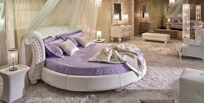 Круглая кровать Agata (Агата)