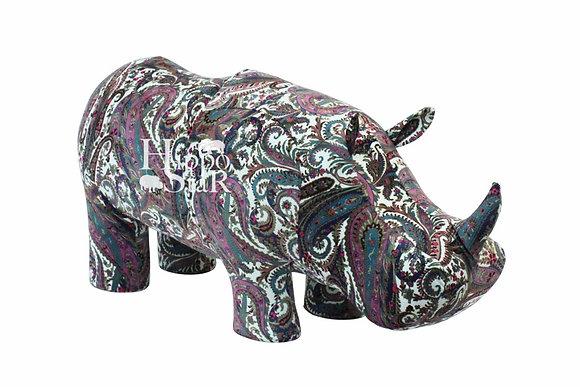 пуф носорог велюр
