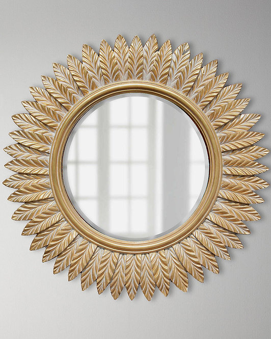 "Круглое настенное зеркало ""Барклай"""