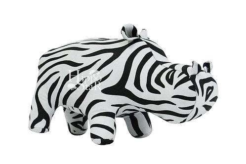 Декоративный  Бегемот Дизайн Zebra