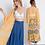 Thumbnail: Mustard Floral Kimono