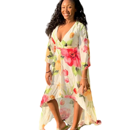 Sundays Best Floral Dress