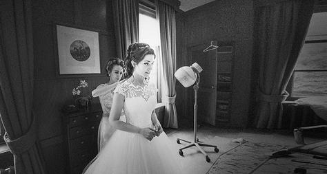 Kasteel Voorbereidingen Bruid