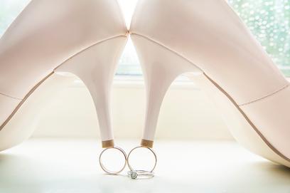 Verlovingsring en trouwringen