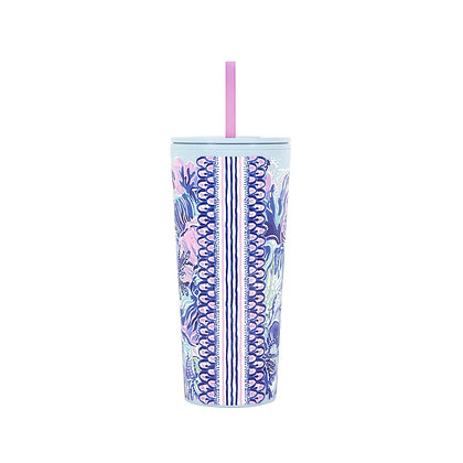 TUMBLER WITH STRAW