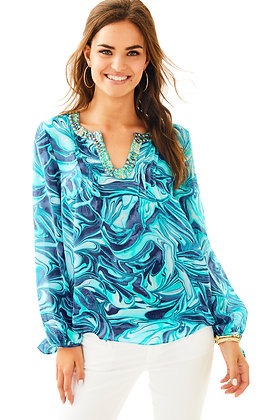 COLBY SILK TOP