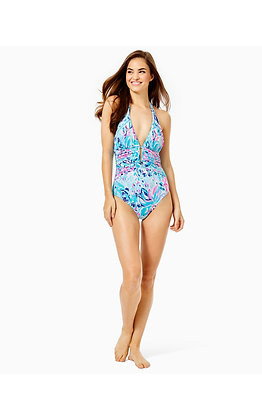 LANAI HALTER ONE PIECE