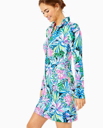 UPF 50+ SKIPPER RUFFLE DRESS