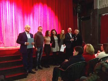 Consegna del Diploma alla vincitrice della 4° Edizione della Borsa di Studio
