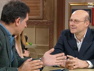 Intervento in diretta del Presidente ad Uno Mattina in famiglia su RAI 1