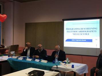"""Presentati i risultati screening ECG all'I.C. """"Bravetta"""" di Roma"""