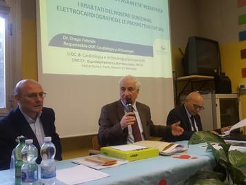 """Presentati i risultati dello screening ECG I.C. """"Via Bravetta"""" di Roma"""