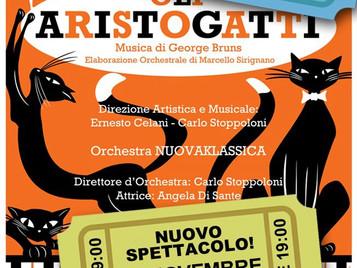 NuovaKlassica - Concerto per famiglie: Gli Aristogatti