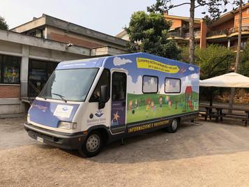 L'ambulatorio mobile per lo screening ECG nelle scuole