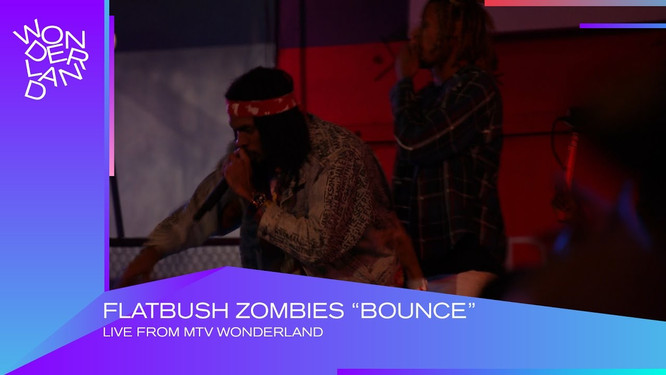 MTV Wonderland - Flatbush Zombies LIVE