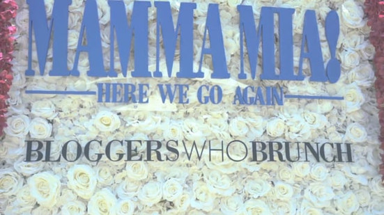 Mamma Mia! Here We Go Again x Bloggers Who Brunch