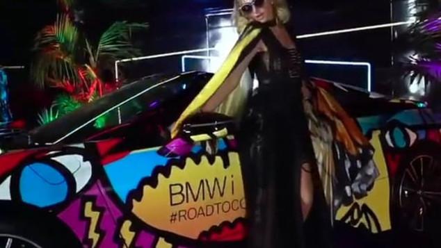Paris Hilton x BMW #RoadToCoachella Poppy's After party