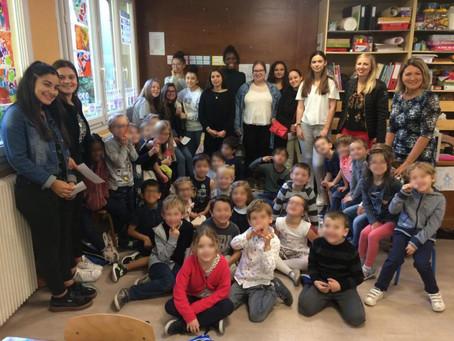 Action d'éducation à la santé sur l'hygiène bucco-dentaire à l'école ST Pierre Nancy