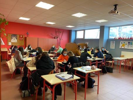 Les élèves en action !!! (Bac Pro AEPA)