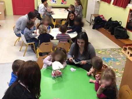 BAC PRO ASSP: Actions d'éducation à la santé à l'école maternelle ST PIERRE de Nancy