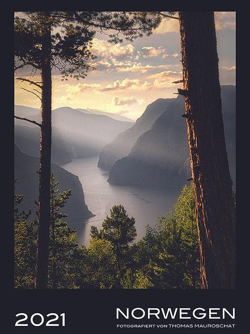 Norwegen Wandkalender 2021