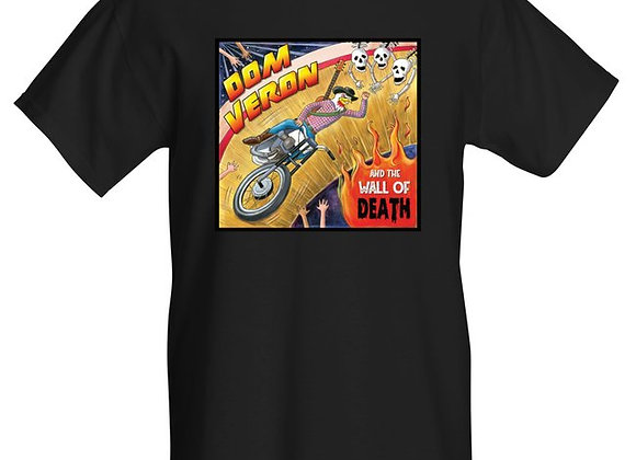 Dom Veron Wall of Death EP T Shirt