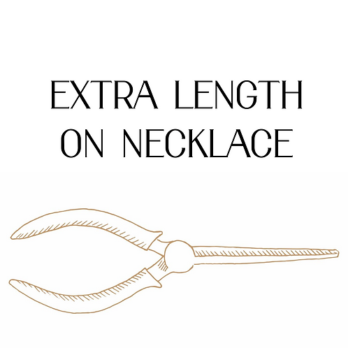 Extra Length On Necklace