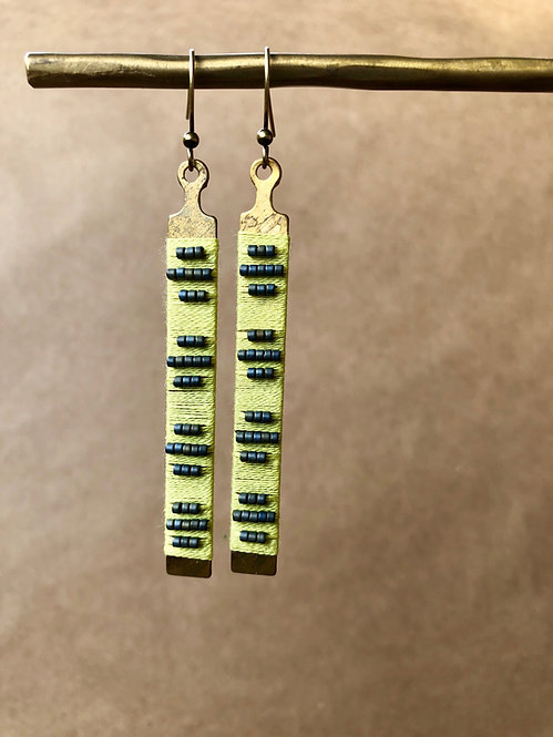WS Fret Earrings - Single Set