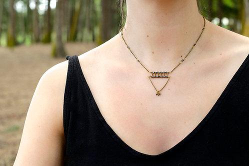 WS Fandangle Necklace - Pyrite