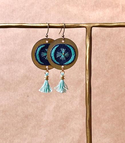 WS Harvest Moon Earrings - Single Set