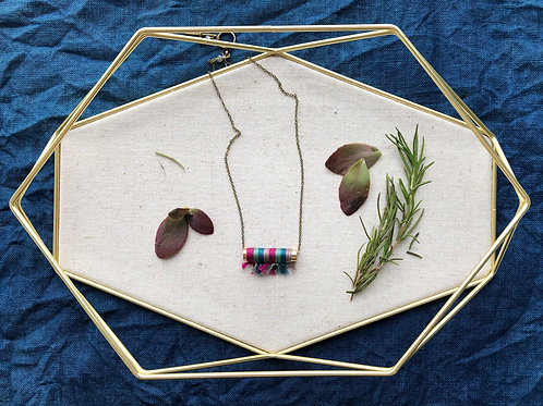 WS Plume Necklace - Berry Thyme