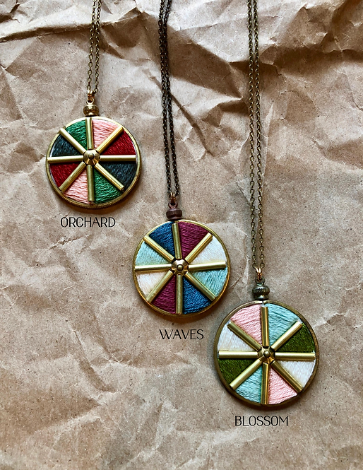 WS Segment Necklace - Retail Pack of 3