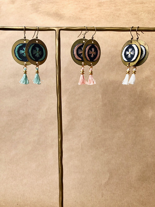 WS Harvest Moon Earrings - Retail Pack of 3