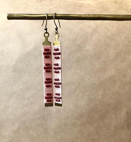 WS Fret Earrings - Single Set