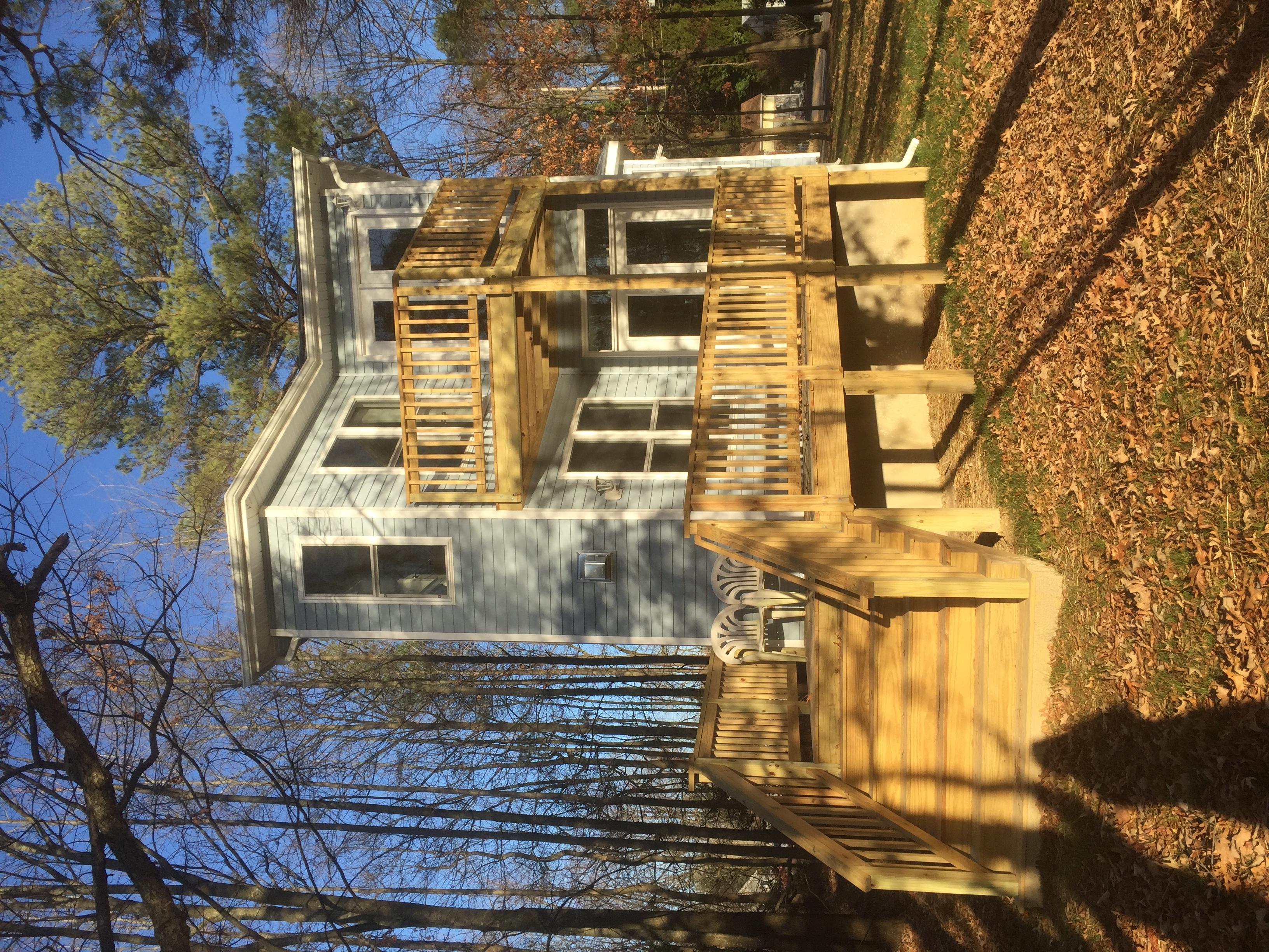 RPA Setbacks form Tiny House