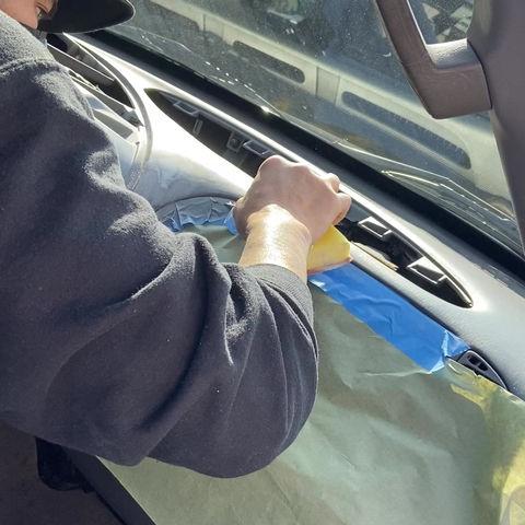 Repairing a Cracked Dashboard