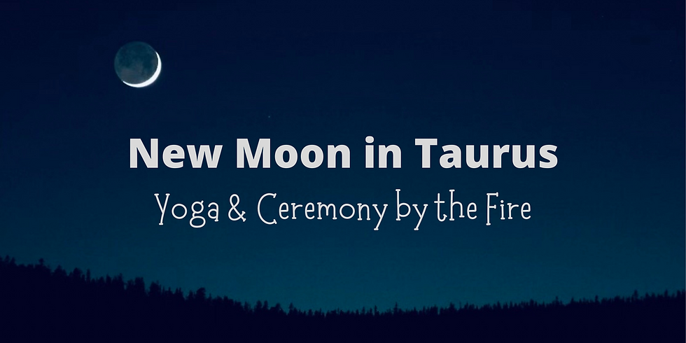 New Moon Yoga & Ceremony by the Fire at Brownstone