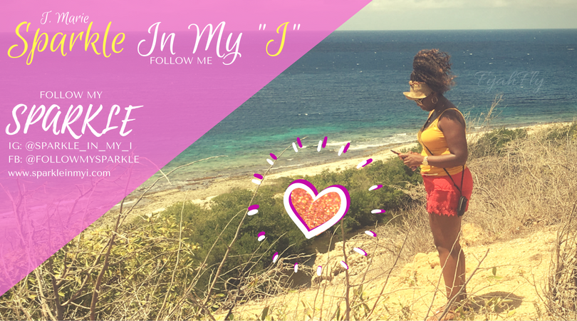 Finding my sparkle on a hilltop in Curacao