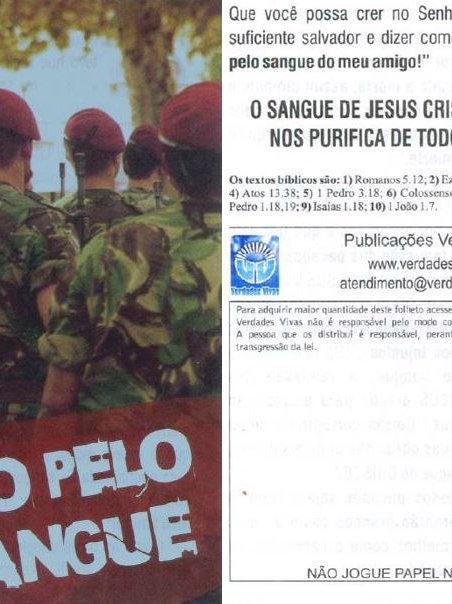 Salvo Pelo Sangue - pct. c/ 100 unidades