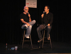 In conversation with Kim Mitchell.  This is part of my role as Host and Moderator for the Post-Show Artist Chat Series with the Oakville Centre for the Performing Arts, in association with the department of Canadian Heritage.