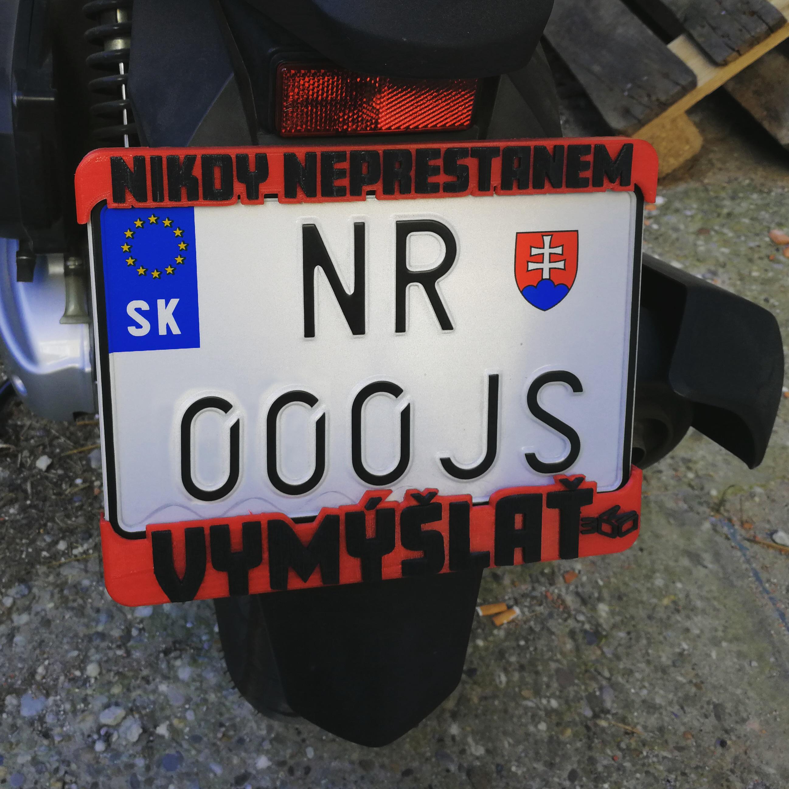 custom plate holder