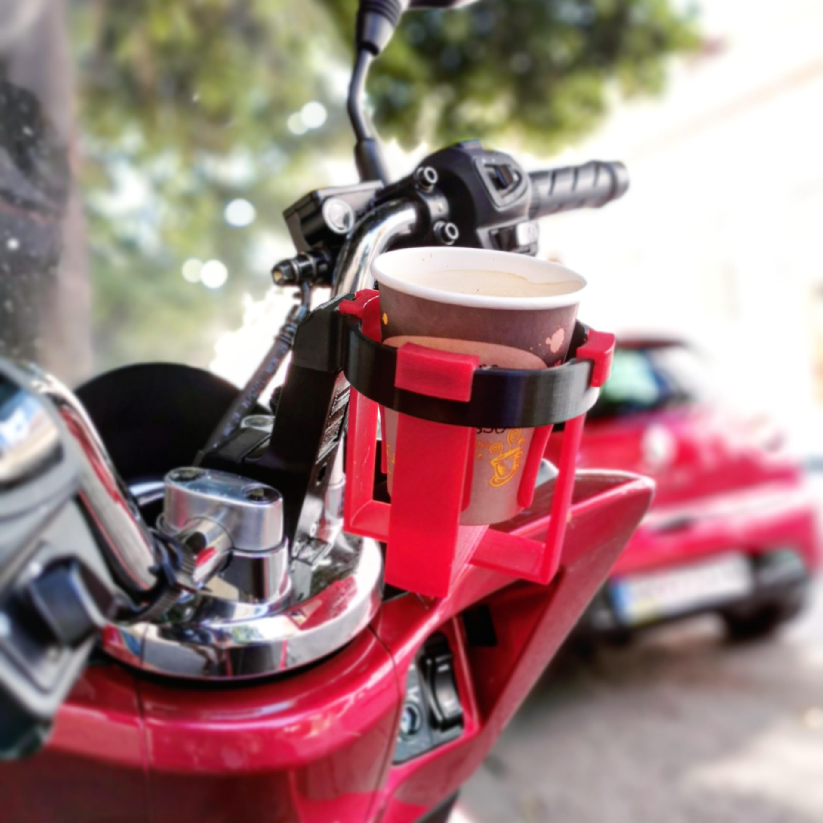 Honda 125 cup holder
