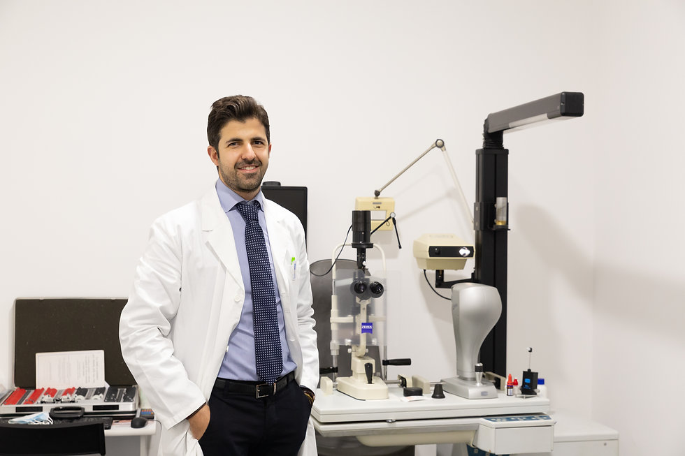 Medico, Chirurgo, Oculista. Dott. Ameer Abd El Ghani Roma, prenota Subito Un Esame OCT Senza Attese a Roma