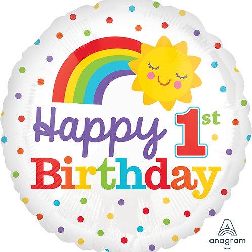 """Happy 1st Birthday 17"""""""