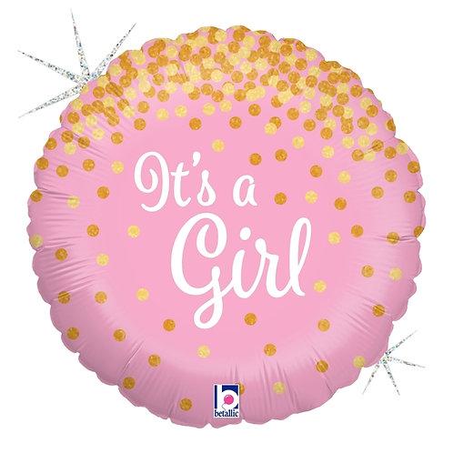 """Glitter It's a Girl 18"""""""