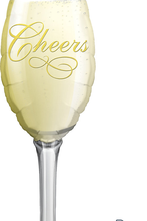 Champagne Glass 38""